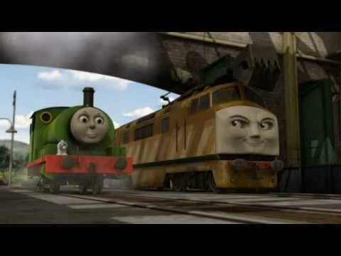 Day Of The Diesels Scene: Diesel 10 & Lackeys Invade The Steamworks - With Alternate Music
