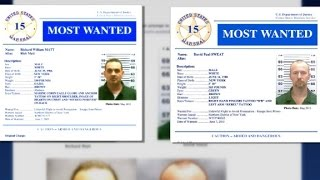 N.Y. escapees join the U.S. Marshals' Most Wanted list