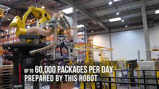 Automation in an XPO Logistics Warehouse