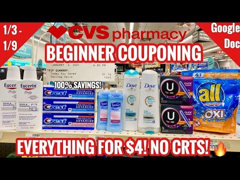 CVS Beginner Coupon Deals & Haul   NO CRTS!   1/3 – 1/9   ALL FOR $4!   100% SAVINGS! 🙌🏽🔥