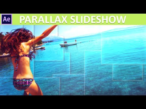 After Effects Parallax Slideshow Tutorial