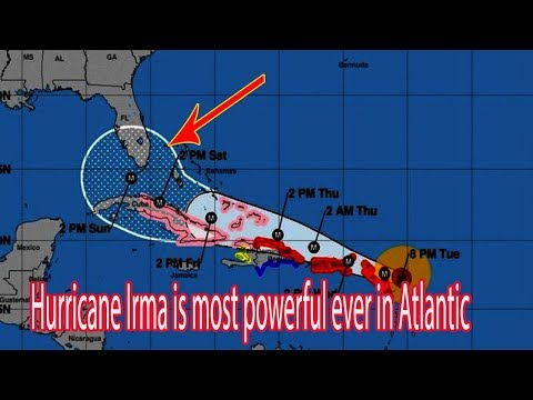 Hurricane Irma is most powerful ever in Atlantic  - Daily News
