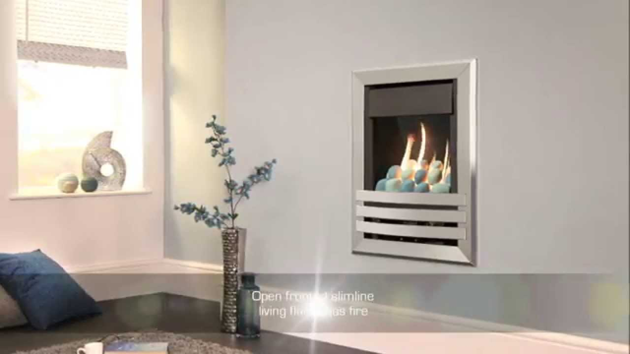 Flavel Windsor Plus Open Fronted Wall Mounted Gas Fire