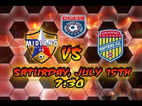 NPSL Lonestar Division Championship Midland/Odessa FC vs Shreveport Rafters FC