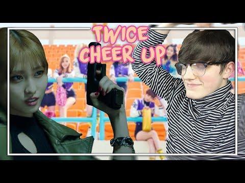 Twice Cheer Up MV Reaction (Im in love)