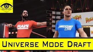 WWE 2K19 Universe Mode DRAFT