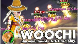 SUMMONERS WAR : Woochi the Wind Taoist - ToA Hard Playtime