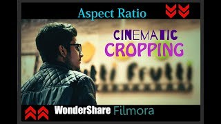 How to Put Cinematic UP and Down Aspect Ratio to Your Video | Just for Creators