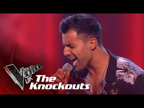 Stefan Mahendra's 'God Is A Woman' | The Knockouts | The Voice UK 2019