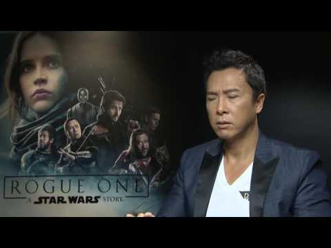 Donnie Yen Interview for Rogue One - Donnie plays Chirrut Imwe in the new Star Wars story