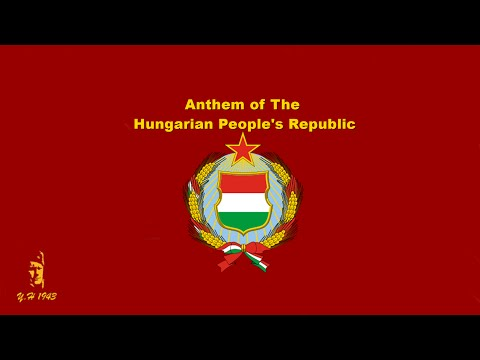 Anthem of The Hungarian People's Republic (Parade 1985)