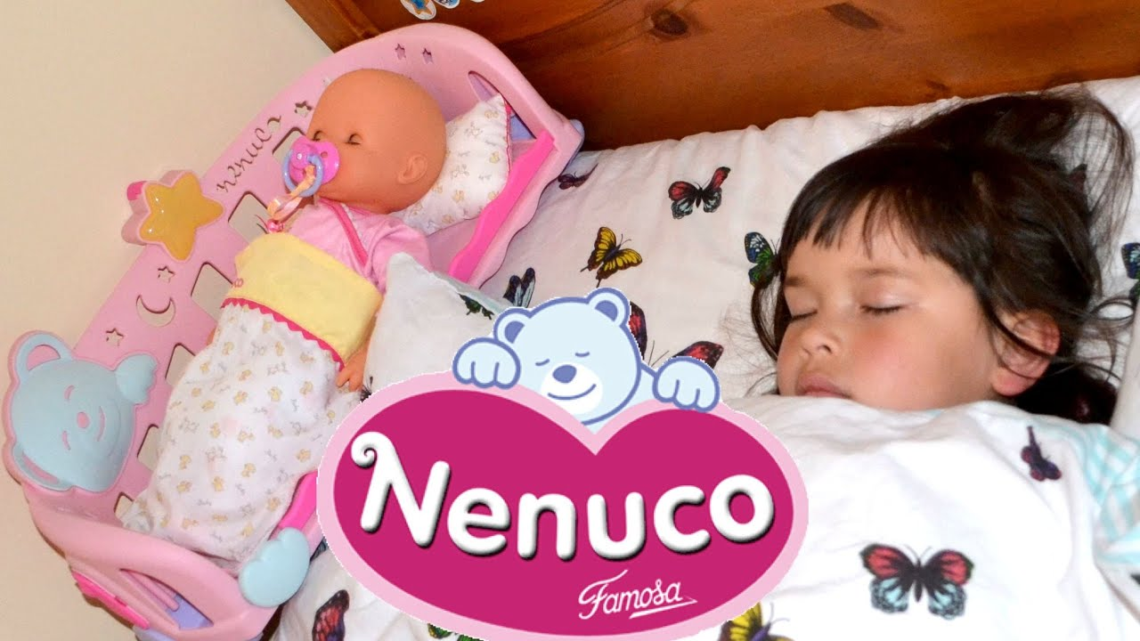 Nenuco Sleep With Me Baby Doll And Cradle With Night Light And Nursery Rhymes Thechildhoodlife