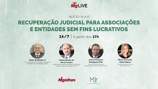 WEBINAR - Recuperação Judicial para Associações e Entidades sem Fins Lucrativos