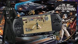 Назад... в прошлое? Star Wars Battlefront 2 на PSP!