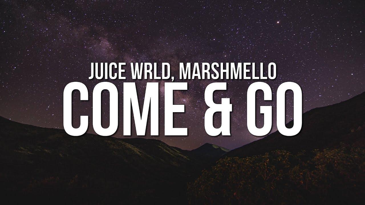 Juice WRLD - Come & Go (Lyrics) ft. Marshmello