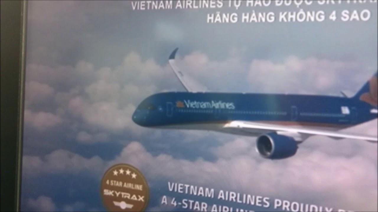 ベトナム航空の機内ビデオ Vietnam Airlines in- Flight movies