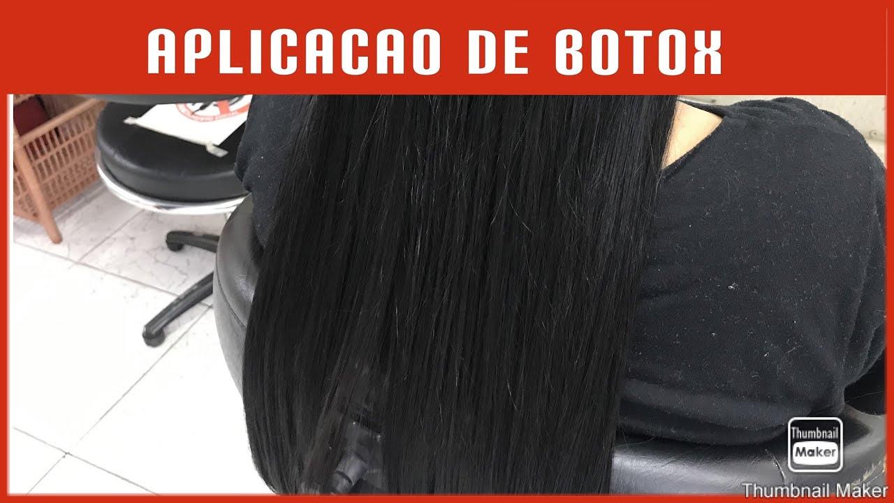 Aplicação de botox - Professor Diego - (Curso de Cabeleireiro)