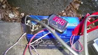 6 volts back to 12.9 using the NORTHSTAR NSBC25