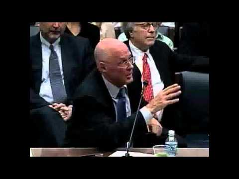 Goldman Sachs - Hearing of Hank Paulson
