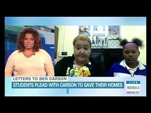 Kids in Cairo, Illinois beg and plead to HUD Secretary Ben Carson for help- LoneWolf Sager(◑_◑)