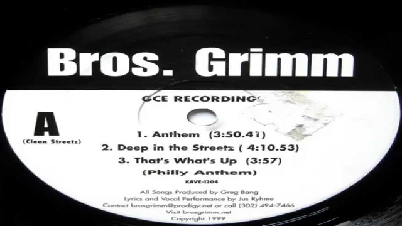 Grimm   Anthem / Deep In The Streetz / Thatu0027s Whatu0027s Up (Philly Anthem)  (Full Vinyl) (1999)