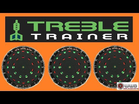 QUICK LOOK At The New Treble Trainer - Darts Device To Improve Your Game?