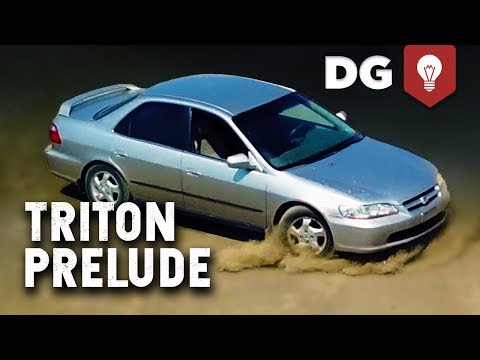 How To Swap A Ford Triton Engine Into A Honda Prelude IN 5 MINUTES!