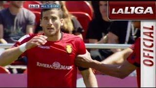Gol de Hemed (1-0) en el RCD Mallorca - Levante UD - HD