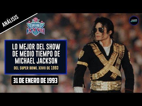 Lo Mejor del Show de Medio Tiempo de Michael Jackson del Super Bowl XXVII de 1993