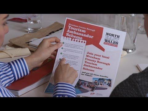 Wrexham Tourism Ambassador 2015/16 Launch