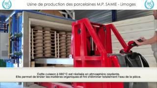 Unité de fabrication des Porcelaines M.P. Samie