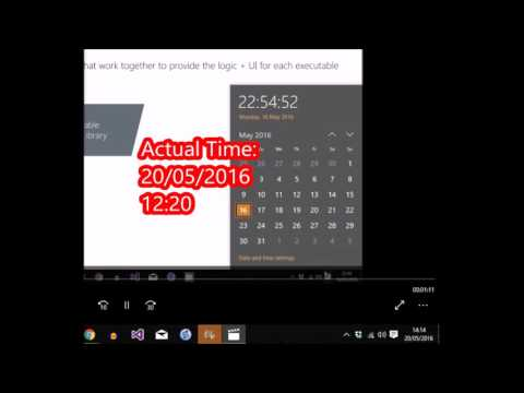 How to Fix Windows 10 Clock Date Time  Wrong Won't Update