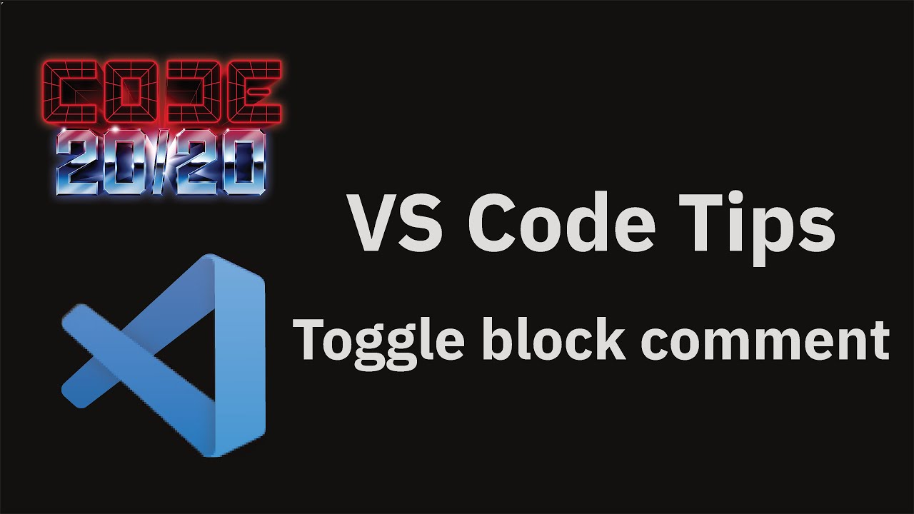 Toggle block comment