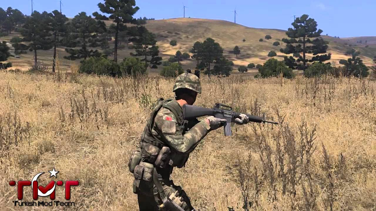 TMT Turkish Army Weapons and Wears mod for ARMA 3 - Mod DB