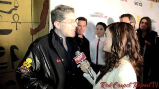 Bob Bergen at the World Premiere of