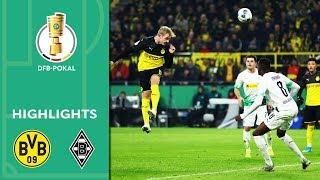 Borussia Dortmund vs. Borussia Mönchengladbach 2-1 | Highlights | DFB Cup 2019/20 | 2nd Round
