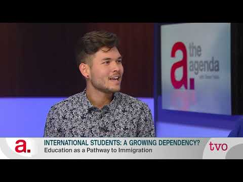 International Students: A Growing Dependency