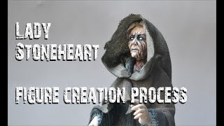 Lady Stoneheart - figure creation process