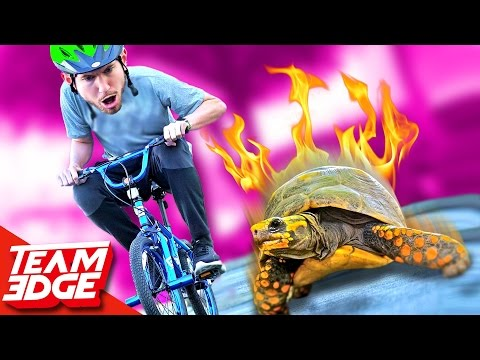 Slow Bike Race!! (Slowest wins!)