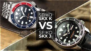 Seiko SKXK vs SKXJ Hands On Comparison - Which Model Is Better?