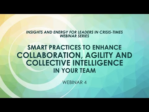 Smart practices to enhance collaboration, agility & collective intel in teams - Jean-Francois Cousin