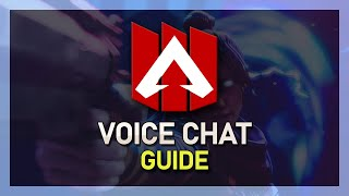 Apex Legends - Voice Chat Guide (Text to Speech, Mic Threshhold, Mute Players)