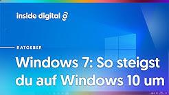 Windows 7: So steigst du kostenlos auf Windows 10 um
