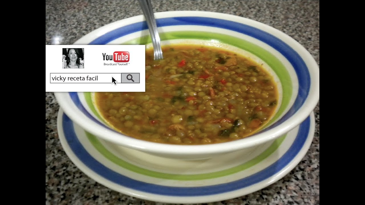 receta de lentejas sencilla