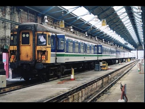 British Rail Vignettes #15 Last week of 309s Longsight depot & Stockport 24 May 2000