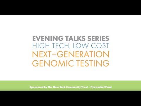 High Tech, Low Cost: Next-Generation Genomic Testing