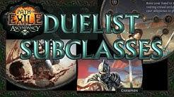 Path of Exile: Duelist Ascendancy Classes Review