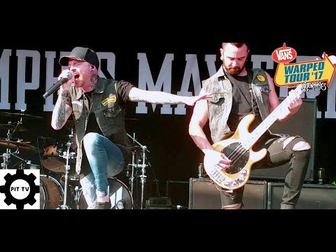 Memphis May Fire- No Ordinary Love (live Vans Warped Tour 2017)