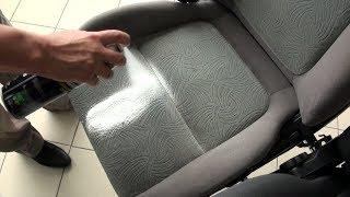 Как и чем убрать пятно с обивки сидений?