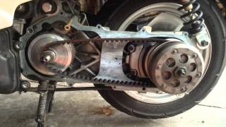 Yamaha Vino 49cc Speed Limiting Variator Spacer Removal